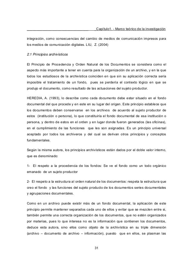 ________________________________ _Capítulo1. - Marco teórico de la investigación 31 integración, como consecuencias del ca...