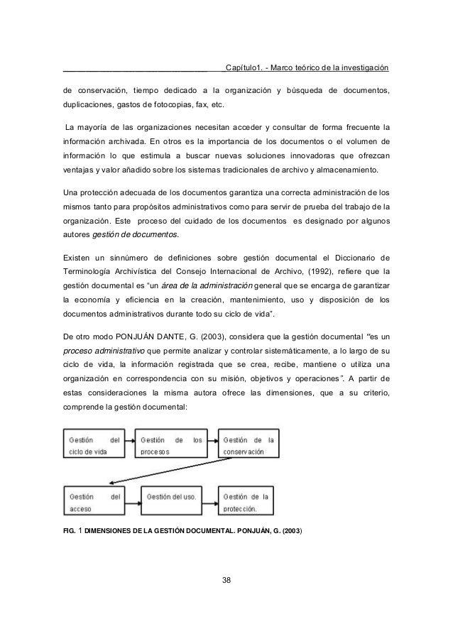 ________________________________ _Capítulo1. - Marco teórico de la investigación 38 de conservación, tiempo dedicado a la ...