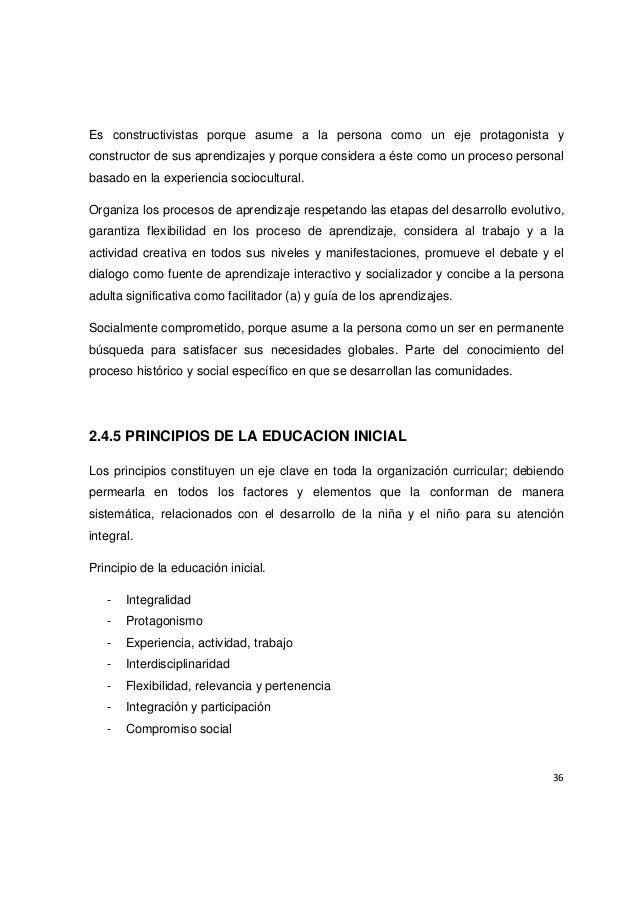 Tesis 2010 internacional programa ternura vs educacion for Programa curricular de educacion inicial