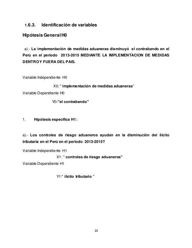 proyecto de Tesis medidas aduaneras - SlideShare
