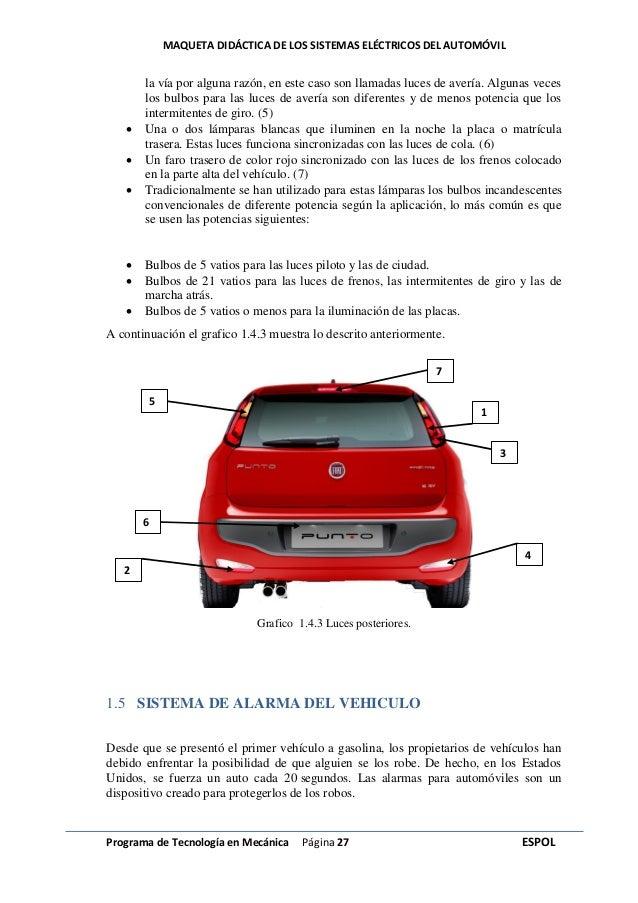 sistemas electricos del automovil