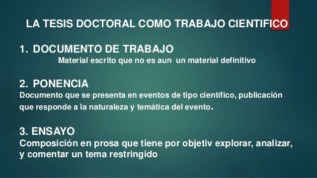 Tesis Doctoral Slide 3