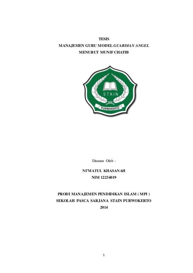Contoh Tesis Manajemen Pendidikan Islam Contoh Soal Dan Materi Pelajaran 7
