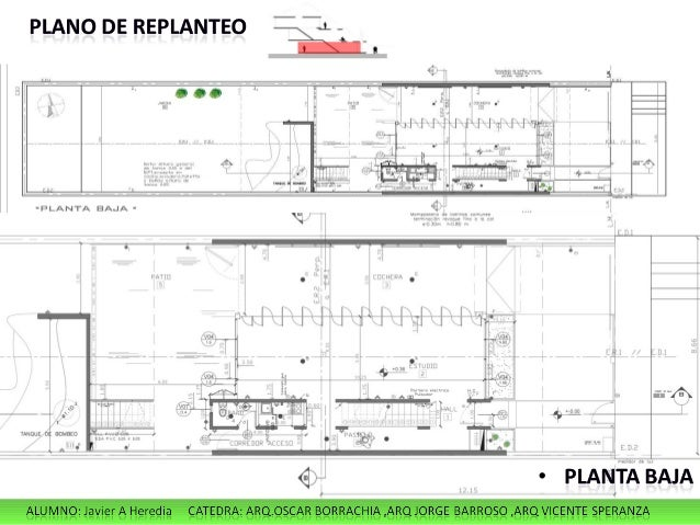 Plano vivienda unifamiliar elegant ficha y planos de casa for Proyecto arquitectonico pdf