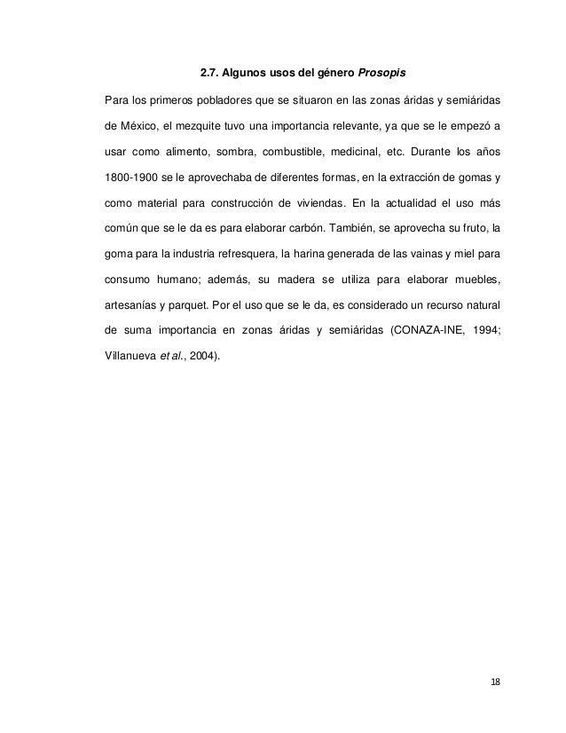 USO DE TEZONTLE COMO SUSTRATO ALTERNATIVO PARA PRODUCCIÓN DE MEZQUITE…