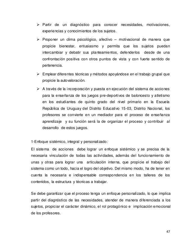 SISTEMA DE ACCIONES PARA LA ENSEÑANZA DE LOS JUEGOS PRE-DEPORTIVOS DE…
