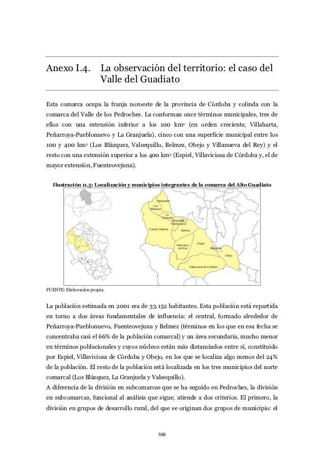 Anexo I.4.               La observación del territorio: el caso del                         Valle del GuadiatoEsta comarca...