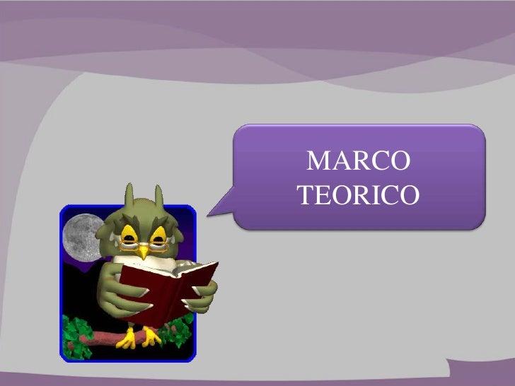 MARCOTEORICO