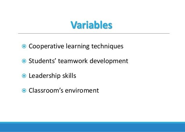 Collaborative Learning Techniques Classroom ~ Using cooperative learning techiniques to reinforce