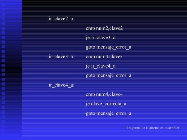 compara_antigua_clave_a: ;leer en EEPROM y ;comparación de claves nuevas del usuario read 01h bcf STATUS,RP1 movwf dato1 m...