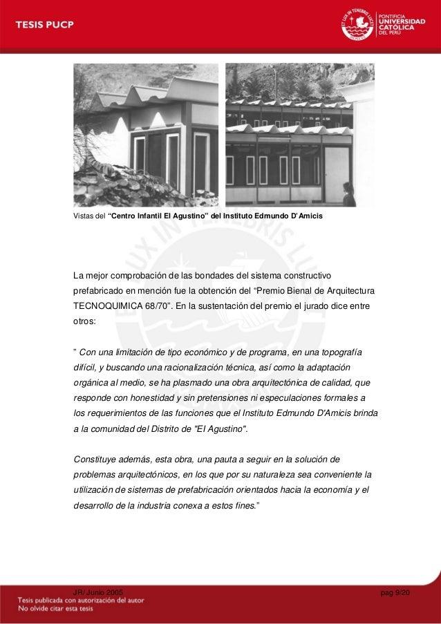 Tesis reiser gasser juan racionalizacion prefabricacion for Tesis de arquitectura ejemplos