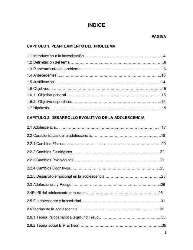 INDICE PAGINA CAPITULO 1. PLANTEAMIENTO DEL PROBLEMA 1.1 Introducción a la investigación………………………………………………………4 1.2 Delimit...
