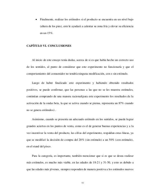 Ronny Felix Llamoja Vicente Tesis Marketing sensorial