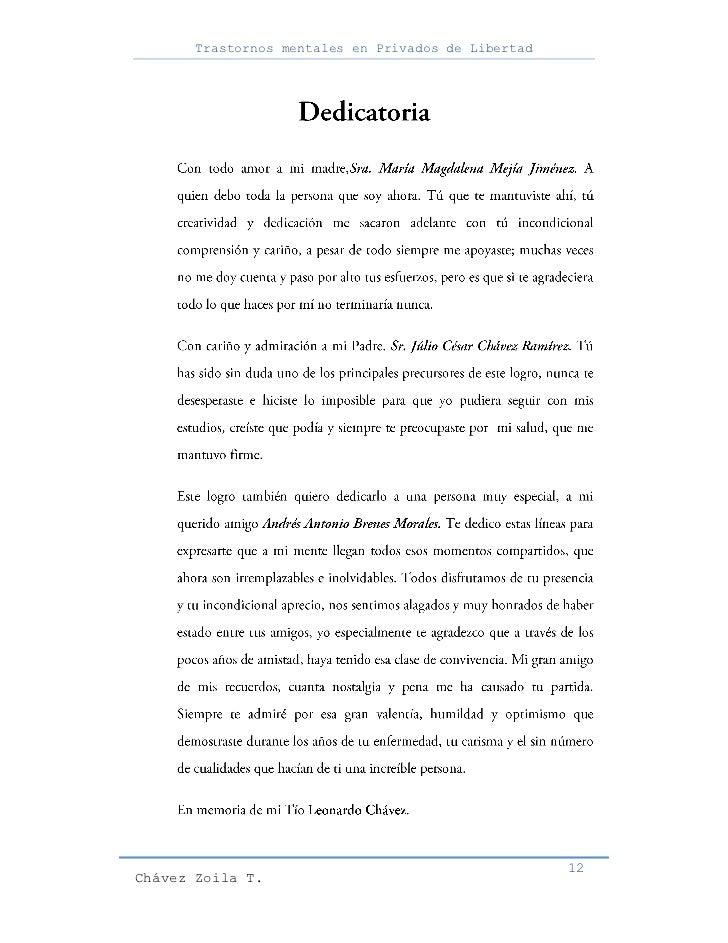 Trastornos mentales en Privados de Libertad                                                     12Chávez Zoila T.