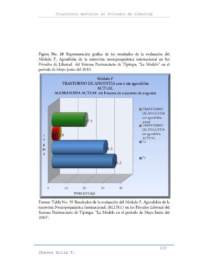 Trastornos mentales en Privados de Libertad                                                     220Chávez Zoila T.