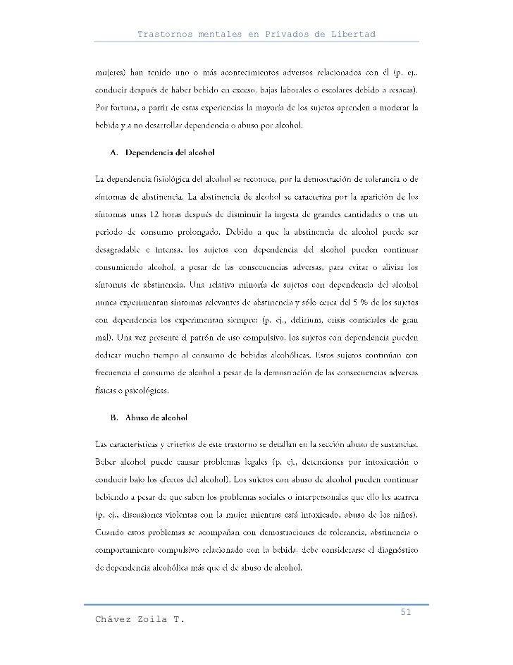 Trastornos mentales en Privados de Libertad                                                     51Chávez Zoila T.