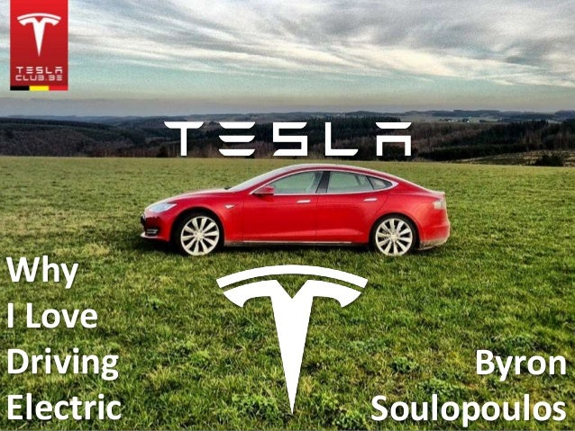 Why I Love Driving Electric Byron Soulopoulos