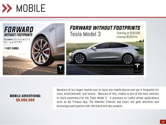 Tesla Model 3 Campaign