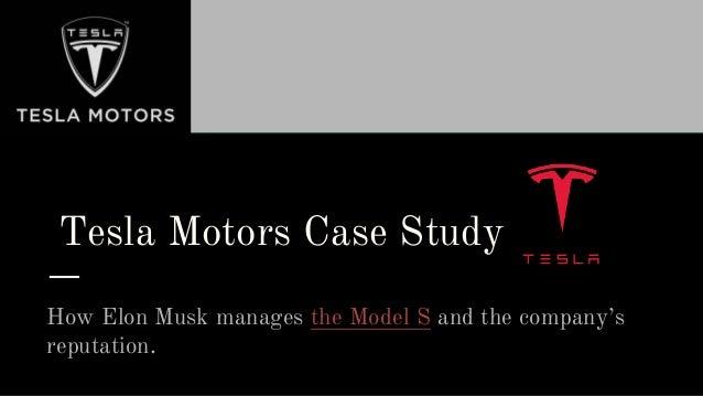 tesla innovation case study