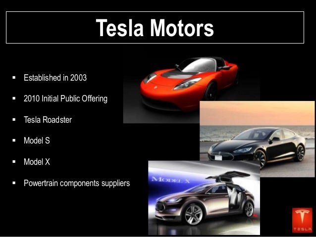 Tesla Motors Final Presentation