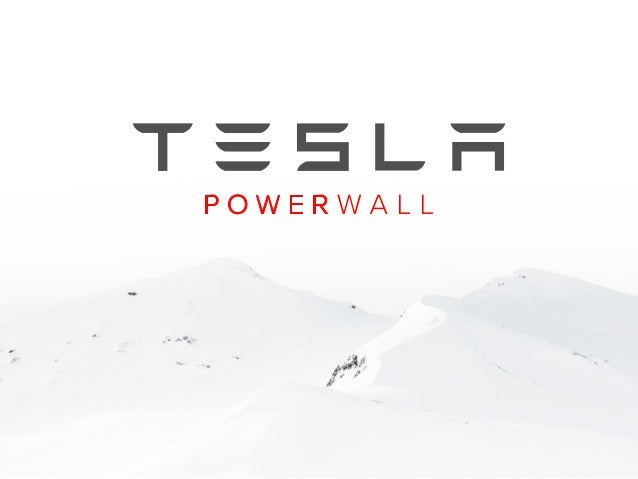 Tesla Powerwall: Anywhere