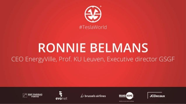 Keeping the balance Ronnie Belmans CEO of EnergyVille / Professor at University of Leuven Executive Director of Global Sma...