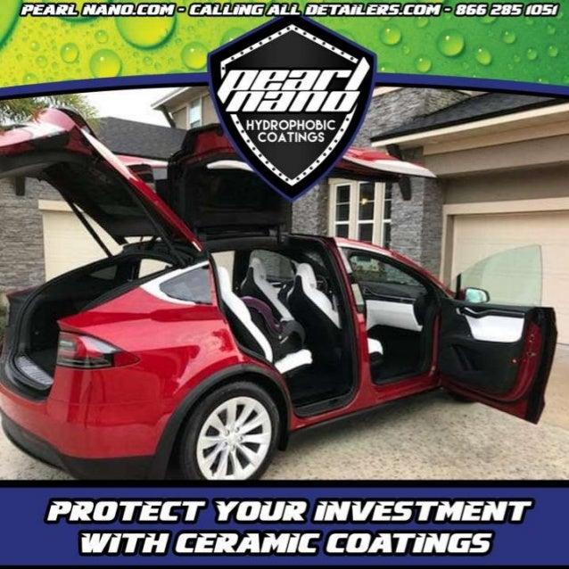 Tesla Signed up for Express Detail & Ceramic Coating - EcoTech Detailing Pearl Nano Coating by EcoTech Detailing Certified...