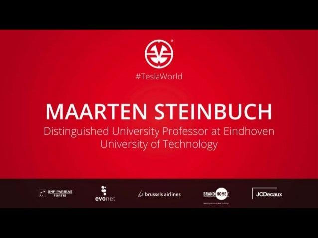 Where innovation starts Where innovation starts Join the Future of Automotive! Maarten Steinbuch Eindhoven University of T...