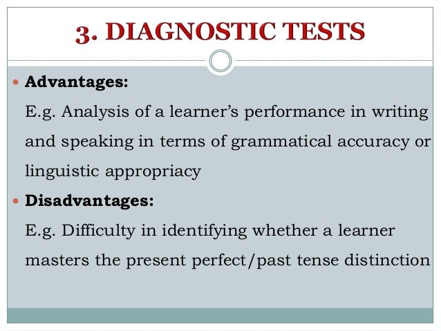 Types Of Tests And Types Of Testing