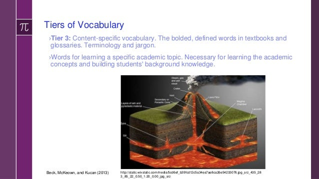 """A Whole Lot of Words! Bernier's Model of Academic Vocabulary ›Content terms—routinely occur in lectures and textbooks as """"..."""