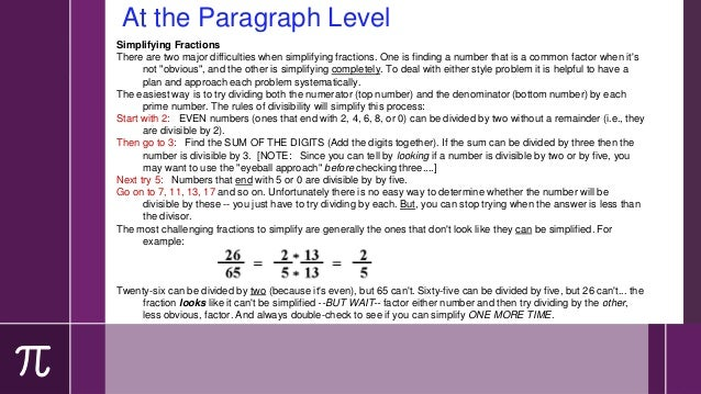 Functions Common in Math Texts › Sequential language › Process-oriented › Comparatives › Argument › Cause & effect › Narra...