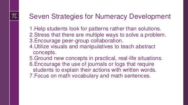 Sample Math Vocabulary Organizer