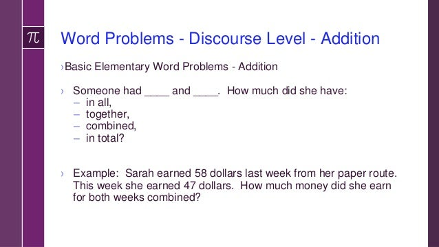 Word Problems Mixed Addition and Subtraction Word Problems ›Two step problems ›Total amount needed is _______. First perso...