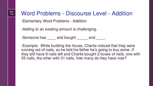 Word Problems Estimating - Addition ›Story problem provides specific numbers. However, students are asked to estimate the ...