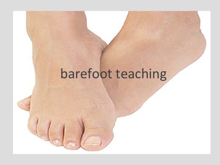 barefoot teaching