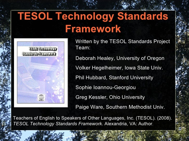 the importance of tesol teaching the english language to speakers of other languages Designed to offer a balance of current theory and practical experience in second language acquisition instructional methods, the teaching english to speakers of other languages certificate will prepare you with foundational knowledge and real-world skills to effectively step into a career in tesol.