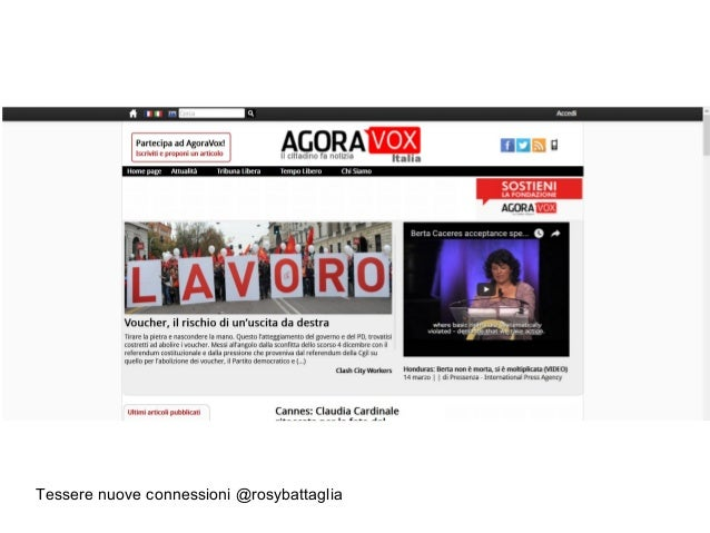 Tessere nuove connessioni @rosybattaglia