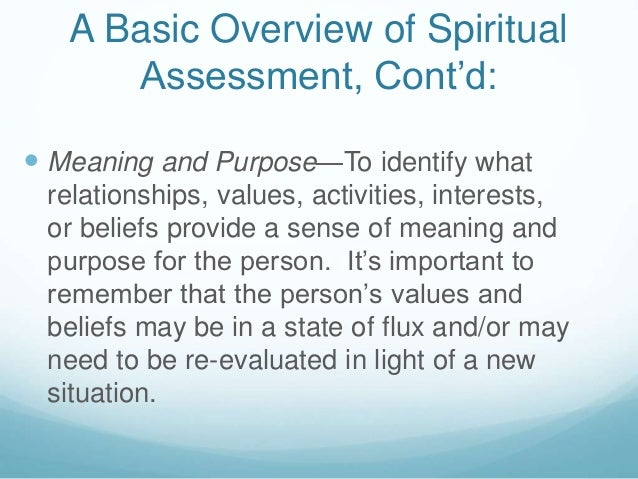 spiritual person meaning