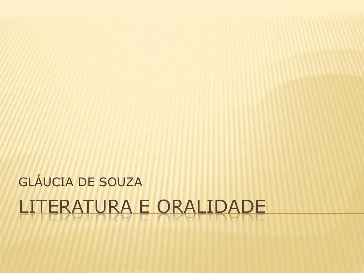 GLÁUCIA DE SOUZA