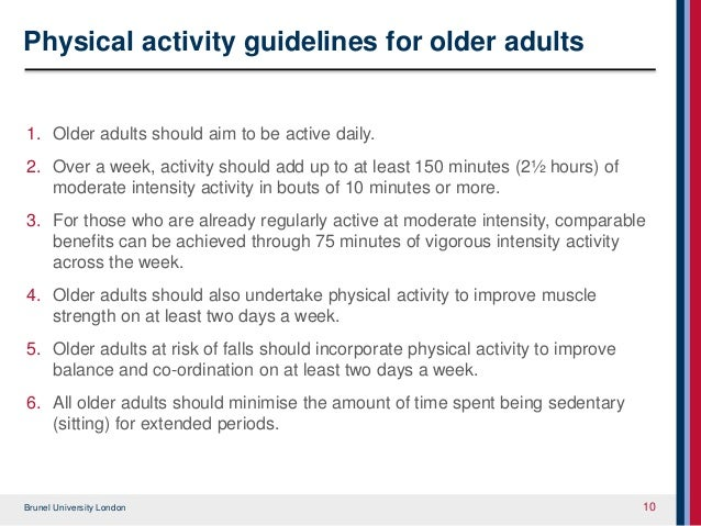 how physical activity can improve on Leisure-time physical activity is associated with longer life expectancy, even at relatively low levels of activity and regardless of body weight, according to a study by a team of researchers led by the national cancer institute (nci), part of the national institutes of health the study, which.