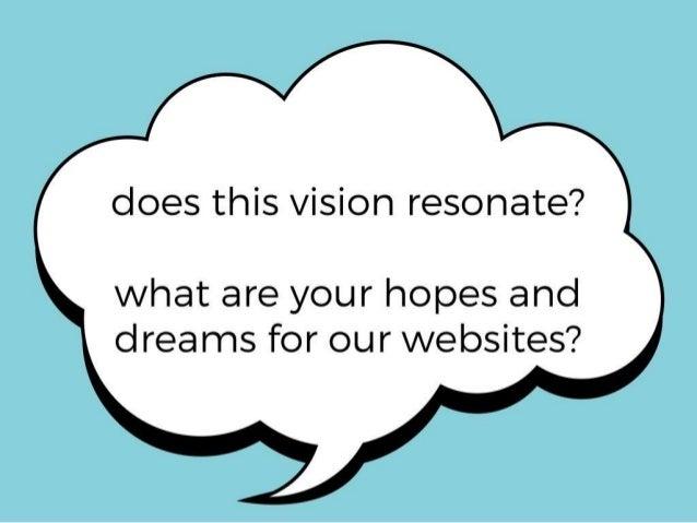Presentation for Department Visioning