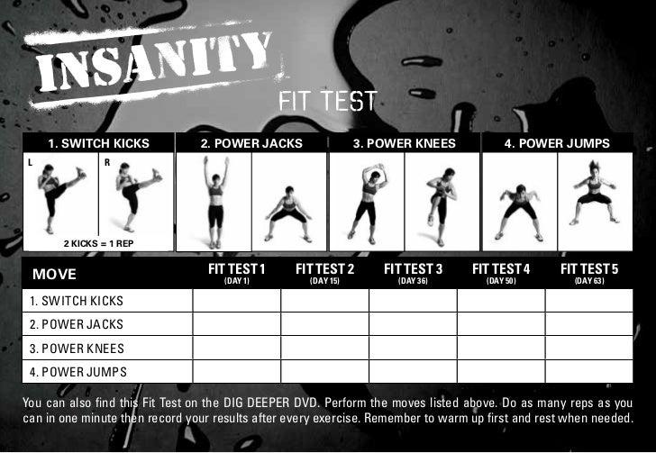 fit test     1. SWITCH KICKS            2. POWER JACKS                 3. POWER KNEES             4. POWER JUMPSL         ...