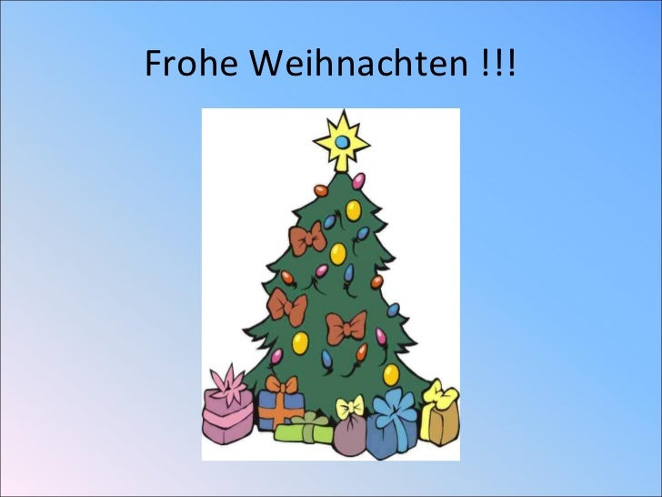 Frohe Weihnachten !!!