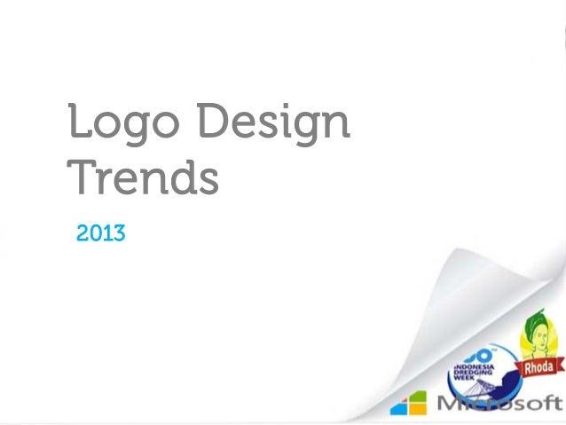 Logo DesignTrends2013