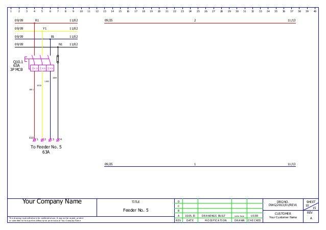 mcc panel wiring ga and bom sample rh slideshare net mcc control panel wiring diagram Pump Control Panel Wiring Diagram