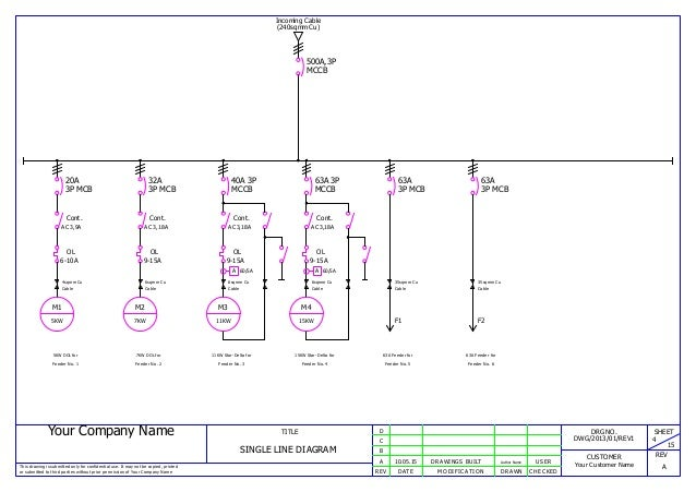 Single Line Wiring Diagram Wiring Diagram