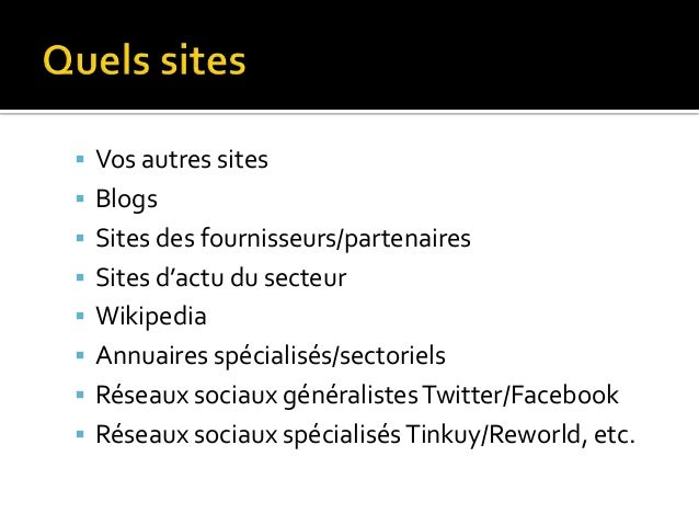   Sur vos sites : un article/actu avec un lien    Sur de très gros sites à fort trafic : un article / CP    Sur des blo...