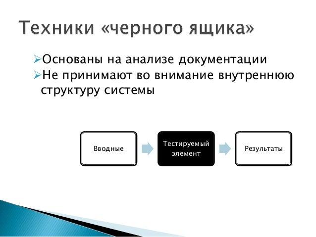 Test design techniques Slide 3