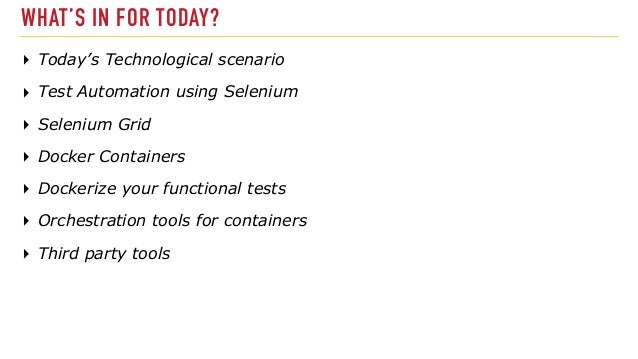 Automated-Testing-inside-containers Slide 3