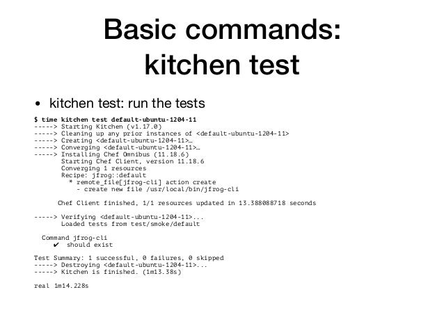 Test Kitchen Verifier